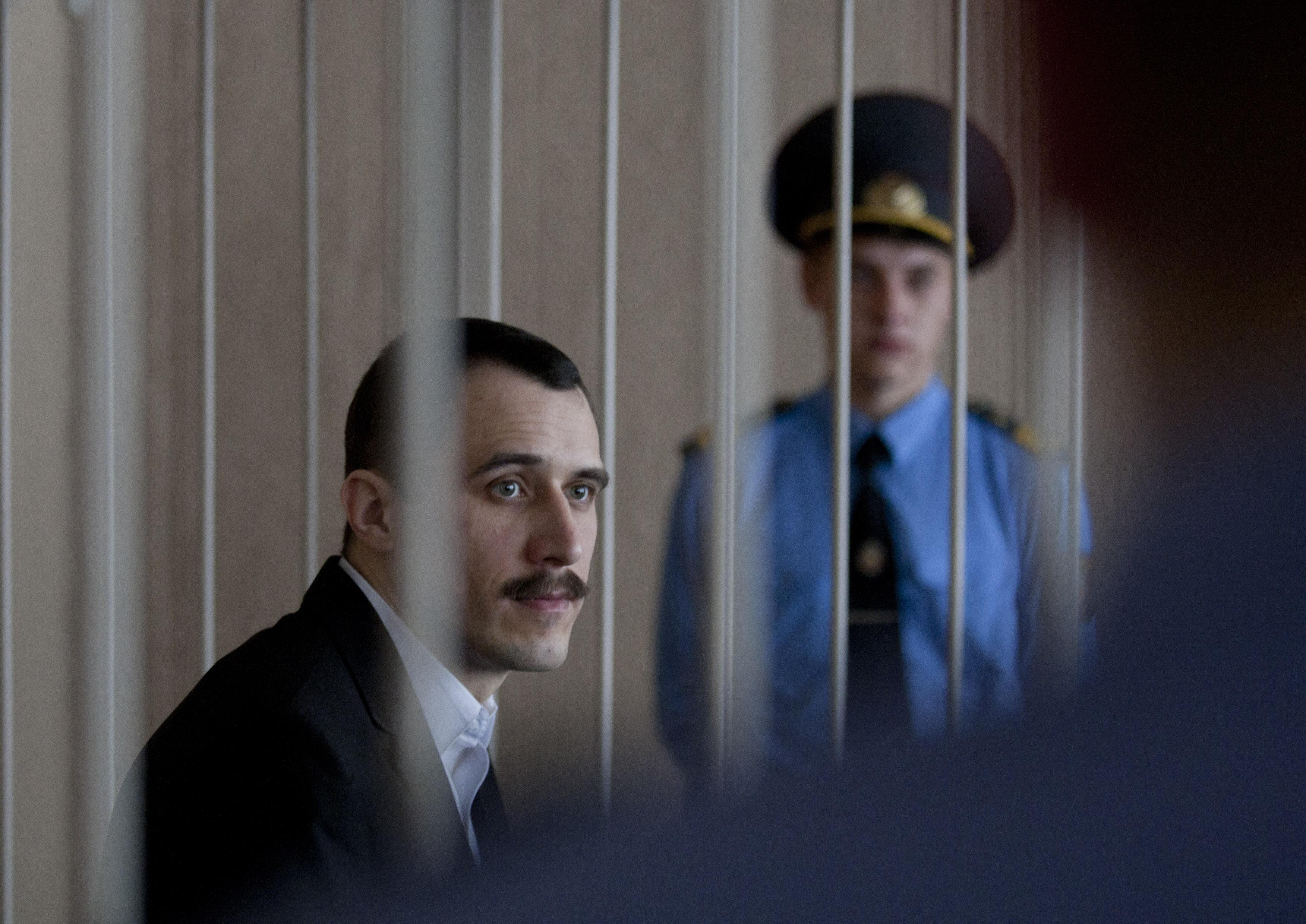 Павла Северинца освобождают утром 19 октября