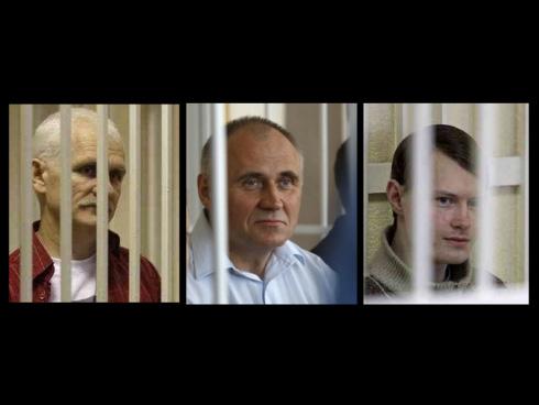 Европарламент выдвинул Лобова, Беляцкого и Статкевича на премию Сахарова