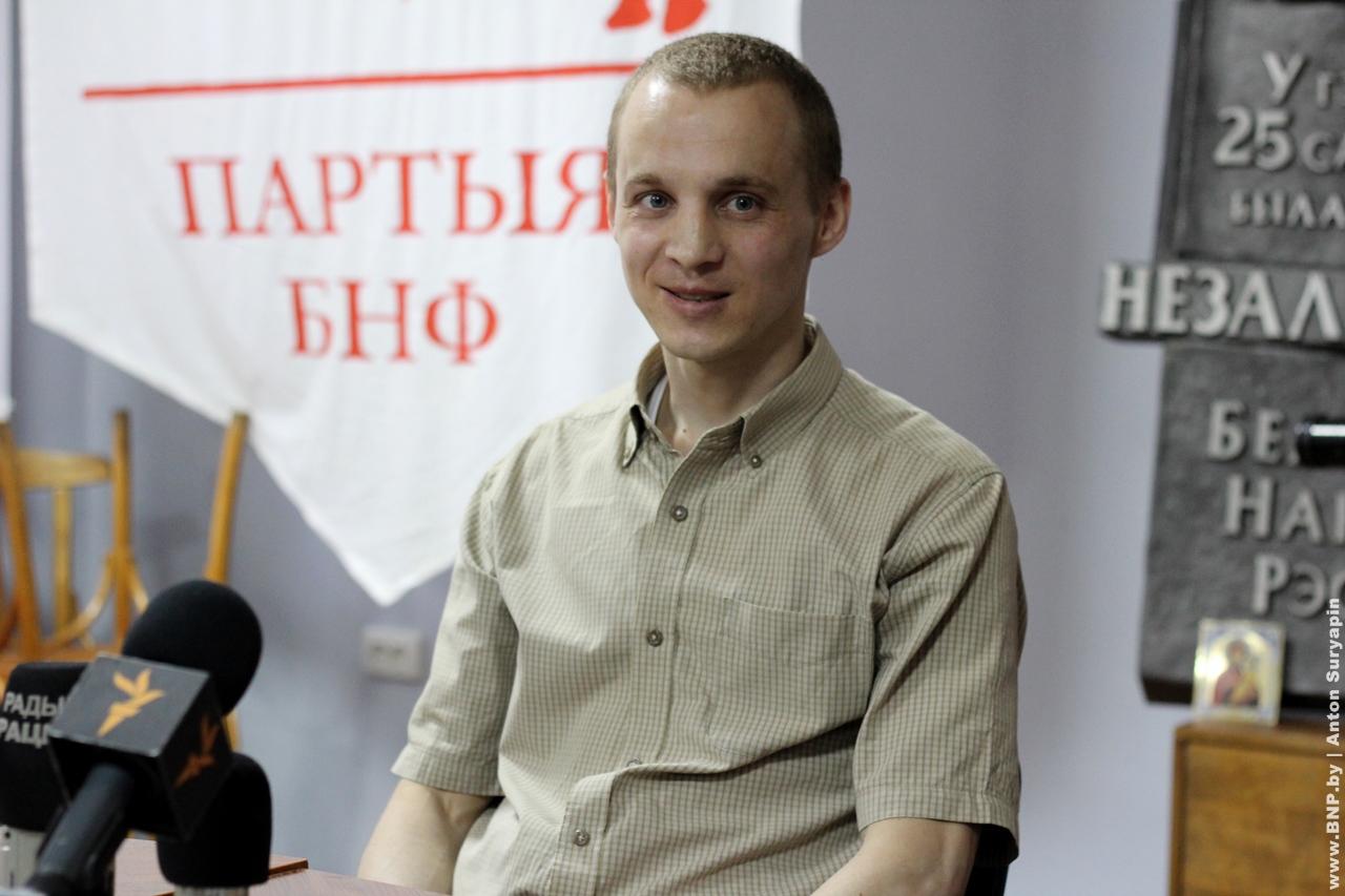 Surveillance regime extended over Dzmitry Dashkievich