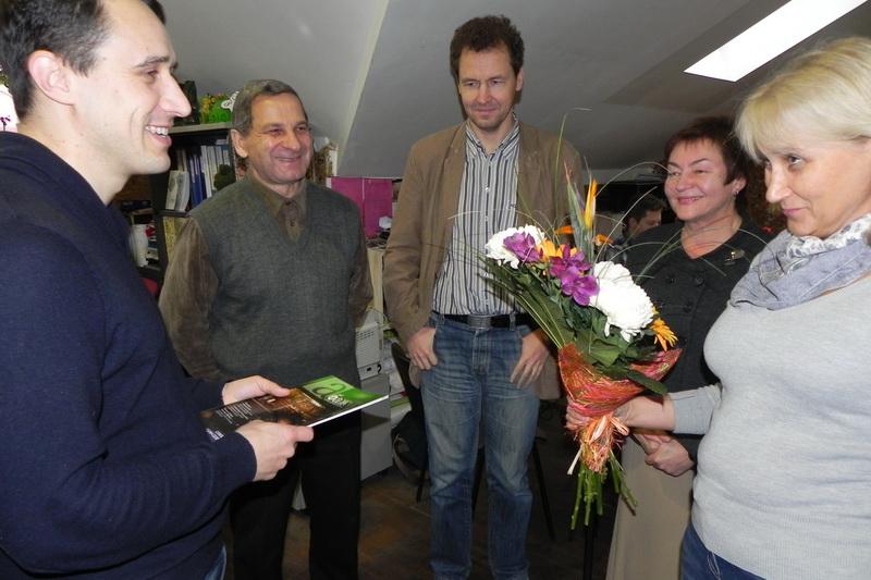 """Павел Северинец поблагодарил """"БАЖевцев"""" за поддержку"""