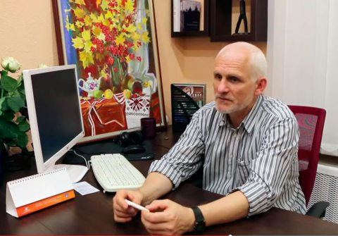 Ales Bialiatski urges people to remain optimistic and support civil society in Belarus